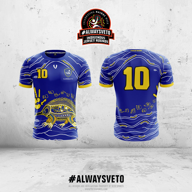 Clairvaux FC Indigenous Rounds Jersey